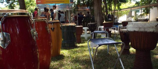Drum Circle at JCU!